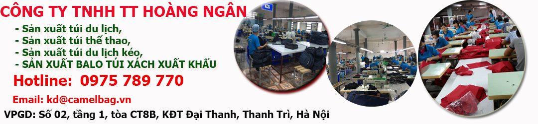 Công ty sản xuất bán buôn balo cặp túi vali Hoàng Ngân